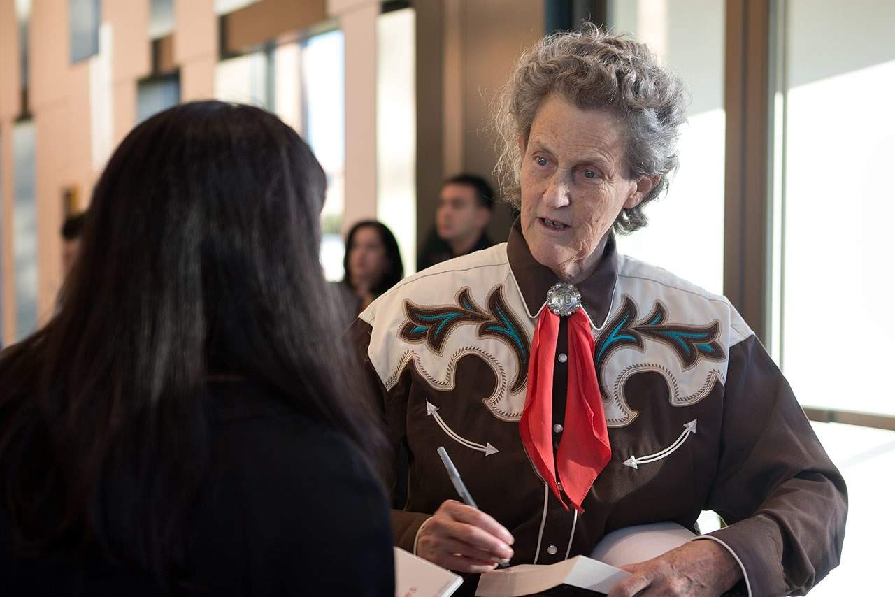 Dr. Temple Grandin, author and renowned role model with autism, brings inspiring messages, stories, to the University of Texas Rio Grande Valley in Edinburg