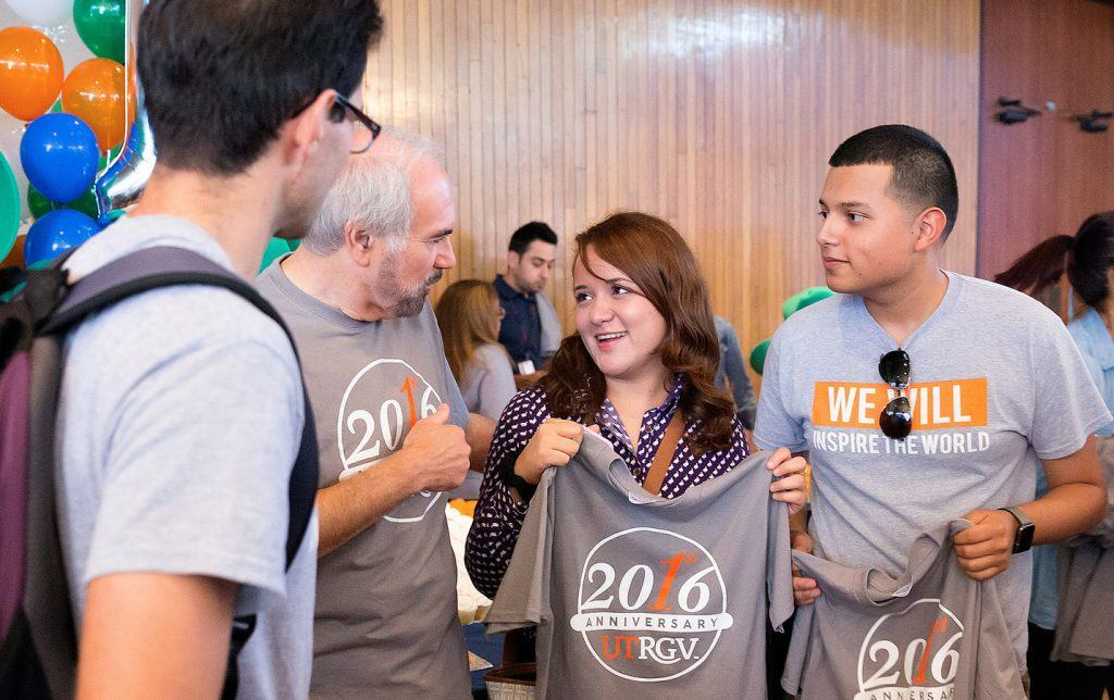 PHOTO 1 - UTRGV celebrates first anniversary