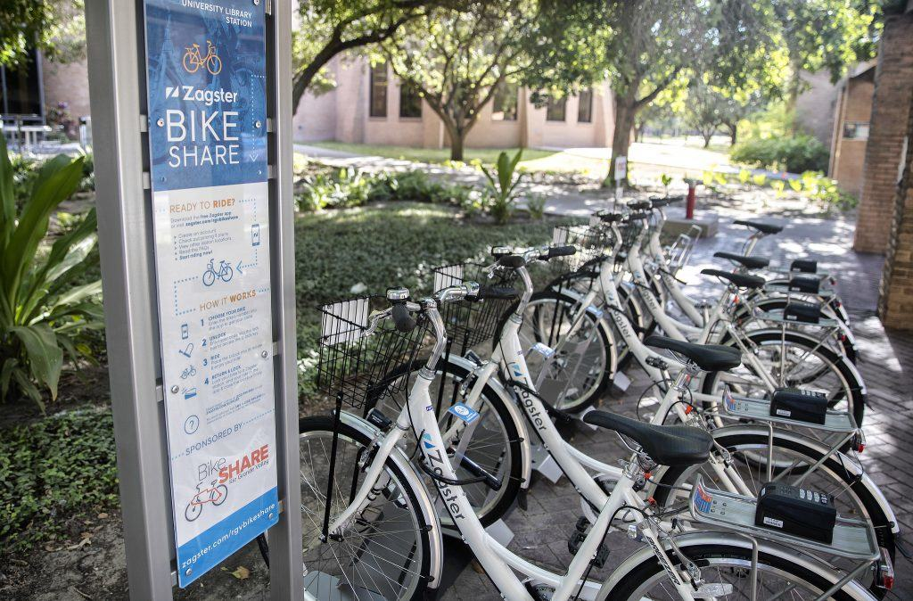 Community Bike Share Program, latest national trend in mobility, to be added to Edinburg's growing transportation system with help from Edinburg Economic Development Corporation - Titans of the Texas Legislature