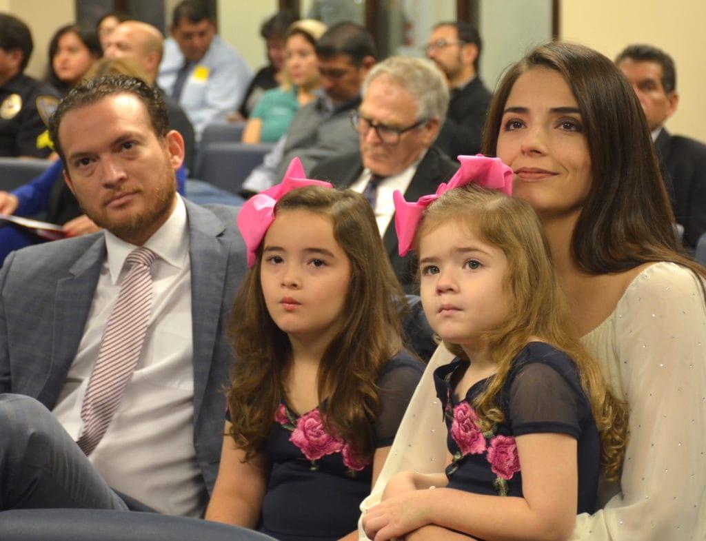 Rep. Óscar Longoria, Jr., D-La Joya, files for Speaker of the Texas House of Representatives, would be the first bilingual Mexican-American Speaker of the 150-member legislative body - Óscar Longoria - Titans of the Texas Legislature
